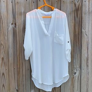 "Lush ""Perfect Henley Tunic"""